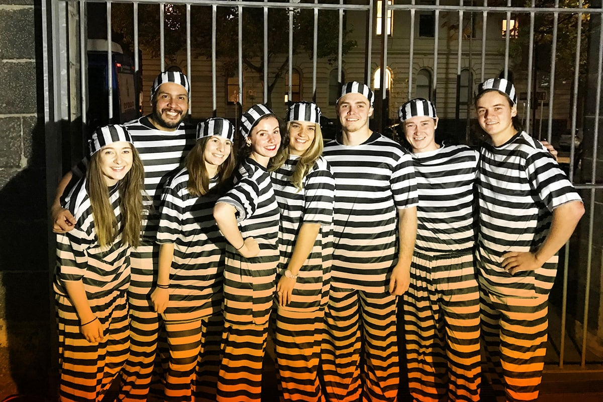 'Bail Out' 2018 at The Old Melbourne Gaol